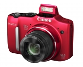 Camara Canon Powershot SX160IS Roja