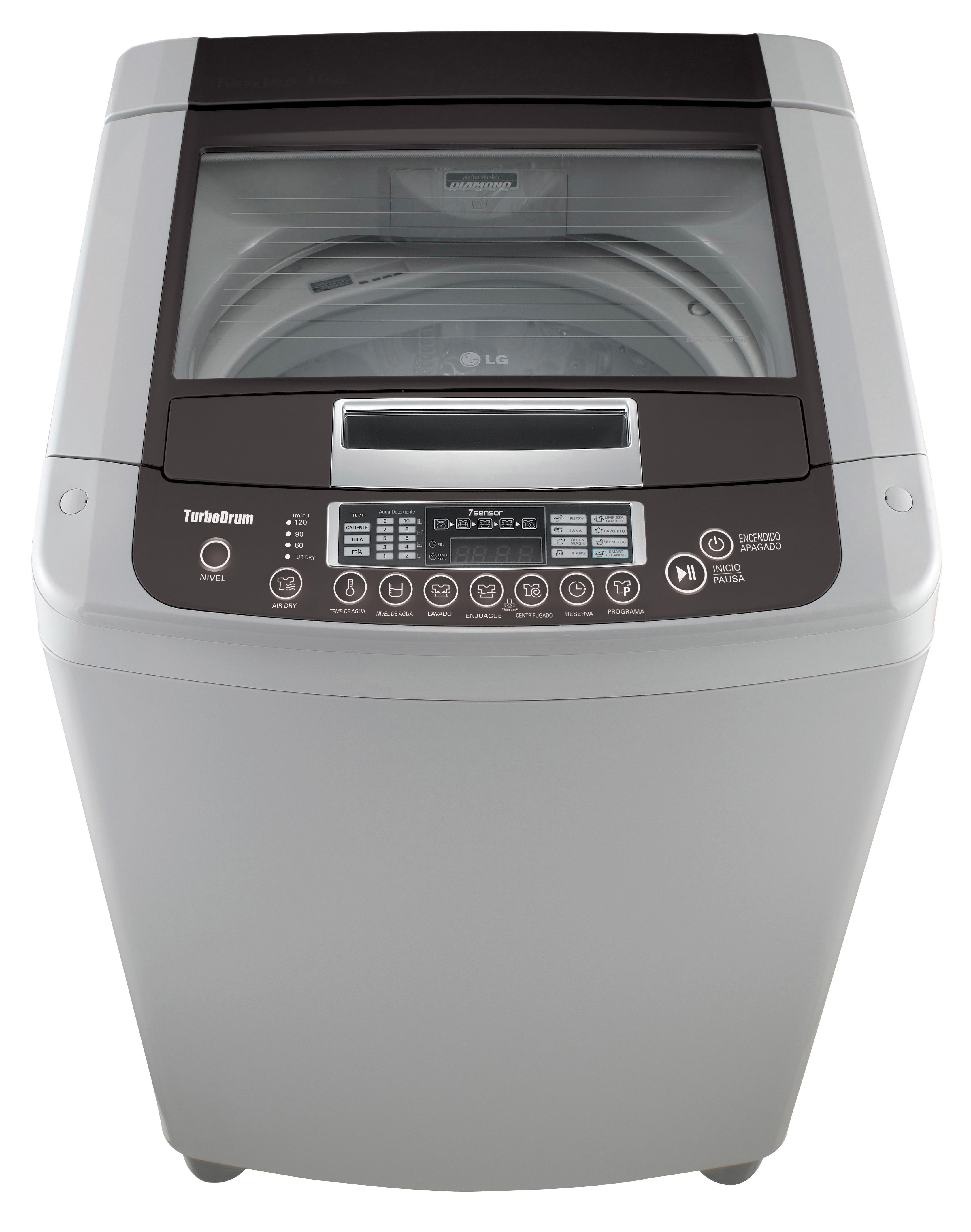 Almacenes rayco lavadora lg wf t1262tp 12kgs 26lbs gris - Opiniones lavadoras lg ...